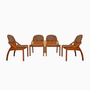 Beistellstühle von Baumann, 1980er, 4er Set