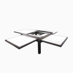 Table d'Appoint Hexa Extensible par Bernard Vuarnesson pour Bellato, 1980s