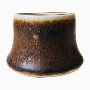 Petit Vase Mid-Century Fourrure de Lièvre de Rörstrand, 1960s