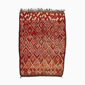Vintage Moroccan Berber Carpet from Beni MGuild, 1980s