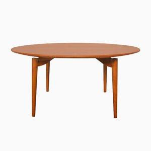 Mesa de centro de Grete Jalk para Poul Jeppesen, años 50