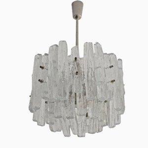 Lámpara de araña modelo 8 de cristal Kalmar, años 60