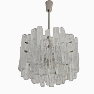 Model 8 Glass Chandelier from Kalmar, 1960s