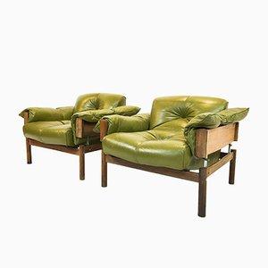 Mid-Century Lehnstühle von Percival Lafer für Lafer MP, 2er Set
