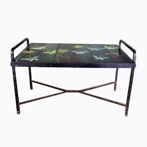 Mid-Century Coffee Table by Jacques Adnet & Guidette Carbonell