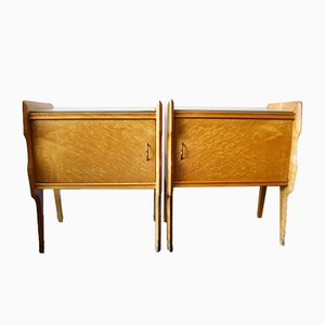 Italian Nightstands, 1950s, Set of 2
