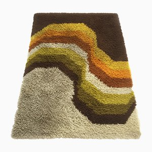 Vintage High Pile Rya Rug from Desso, 1970s