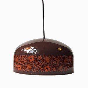 Lampe à Suspension Vintage Emaillée par Kaj Franck pour Fog & Mørup, 1970s