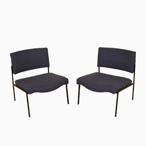 French Fireside Chairs, 1960s, Set of 2