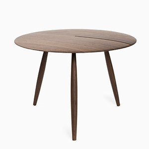 Table Basse Orio en Noyer par Alessandro Stabile & Dario Gaudio pour Internoitaliano