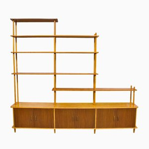 Vintage Dutch Room Divider or Shelving Unit by Willem Lutjens for Gouda den Boer
