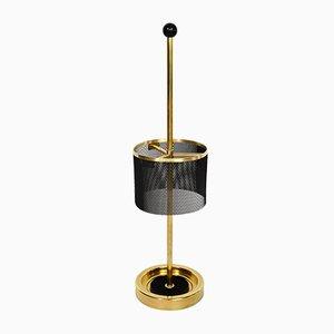Italian Mid-Century Brass Umbrella Stand, 1950s