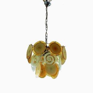 Lampe à Suspension Murano Mid-Century de Vistosi