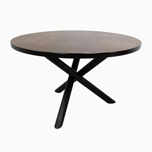 Round Tripod Dining Table by Martin Visser for 't Spectrum, 1960s