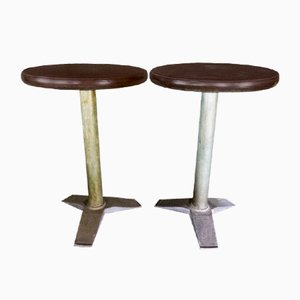 Tables de Bistro Vintage de Fischel, Set de 2