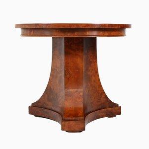 Niederländischer Walnuss Art Deco Cocktail Tisch, 1930er