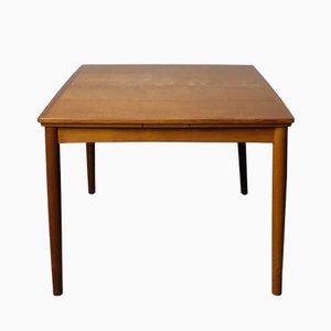 Table de Salle à Manger à Rallonge en Teck par Poul Hundevad pour Hundevad & Co, 1960s