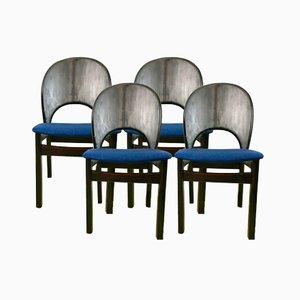 Stühle von Glostrup Mobelfabrik, 1970er, 4er Set