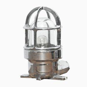Vintage Industrial Chrome Table Lamp