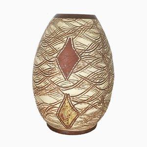 Vaso in ceramica di Franz Schwaderlapp per Scheurich, anni '60