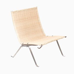 PK22 Easy Chair by Poul Kjaerholm for E. Kold Christensen, 1950s