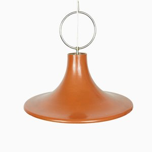 Mid-Century Orange Tulip Pendant Lamp, 1960s