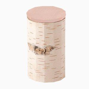 Tuesa Behälter mit beigem Deckel von Anastasiya Koshcheeva für Moya
