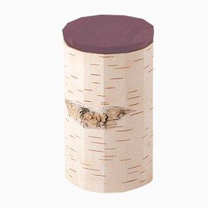 Tuesa Behälter mit lilafarbenem Deckel von Anastasiya Koshcheeva für Moya, 2018
