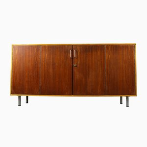 Birch & Teak Combex Series DB02 Lowboard by Cees Braakman for Pastoe, 1950s