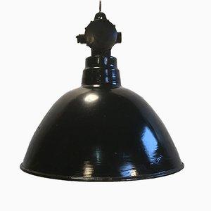 Lámpara de fábrica alemana vintage, años 60