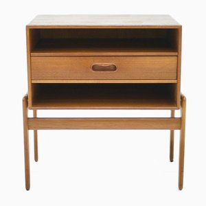 Teak Nightstand by Arne Vodder for Vamo, 1960s