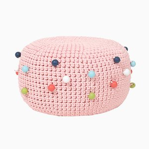 Crocheted Bubbles Pouf from SanFates