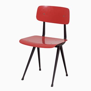 Red Result Chair by Friso Kramer & Wim Rietveld for Ahrend De Cirkel, 1960s