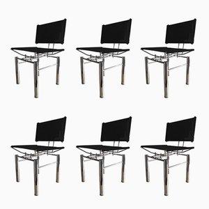Chaises de Salon par Hans Ullrich Bitsch pour Kusch+Co, Allemagne, 1980s, Set de 6