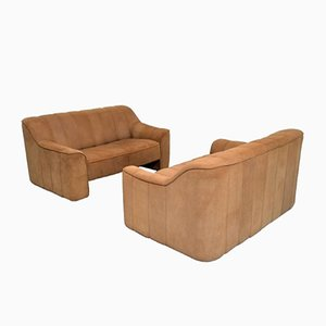 Vintage DS 44 Two-Seater Sofas from de Sede, 1970s, Set of 2
