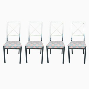 Chaises de Salon Vintage par Belgo Chrom, Set de 4