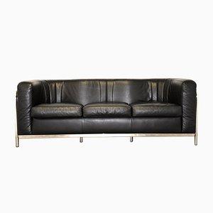 Canapé Onda Vintage en Cuir par Paolo Lomazzi pour Zanotta