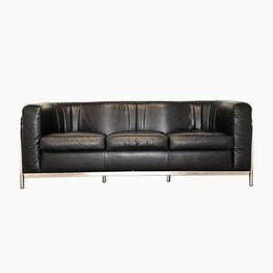 Vintage Onda Sofa aus Leder von Paolo Lomazzi für Zanotta