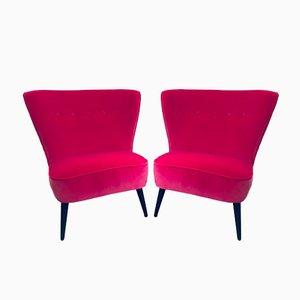 Französische Vintage Stühle, 2er Set