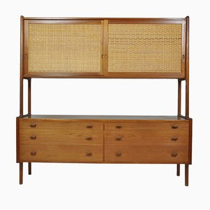 Vintage Danish RY20 Buffet by Hans J. Wegner for Ry Mobler, 1950s