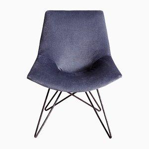 Chaise à Dossier Flexible, 1960s