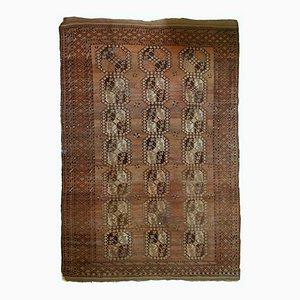 Antike Handgeknüpfter Aghanischer Ersari Teppich, 1900er