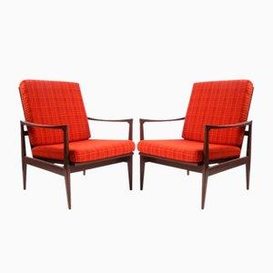 Tschechische Vintage Sessel, 1970er, 2er Set