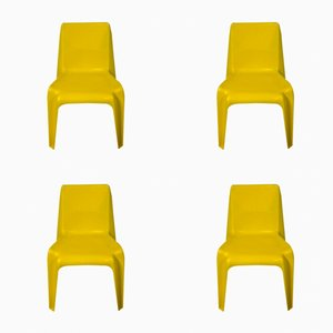Chaises BA1171 Vintage par Helmut Bätzner for Bofinger, Set of 4
