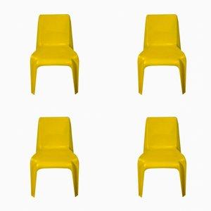 Vintage BA1171 Stühle von Helmut Bätzner für Bofinger, 4er Set