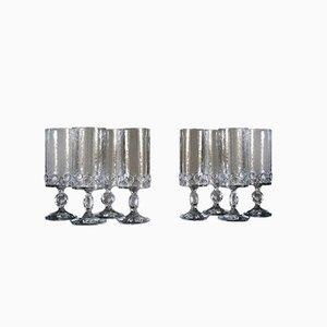 Evergreen Gläser von Claus Josef Riede für Riedel Glas Tirol, 1960er, 8er Set