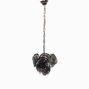 Lámpara de araña milanesa Mid-Century de Vistosi, años 60