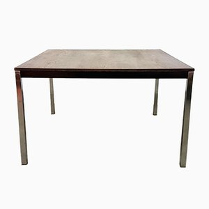Mid-Century Square Wenge Dining Table by Martin Visser for 'T Spectrum