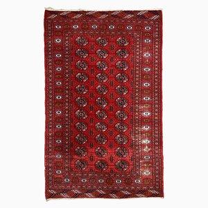 Vintage Handmade Pakistani Tekke Rug, 1960s