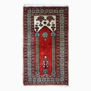Handgeknüpfter türkischer Vintage Konya Teppich, 1970er